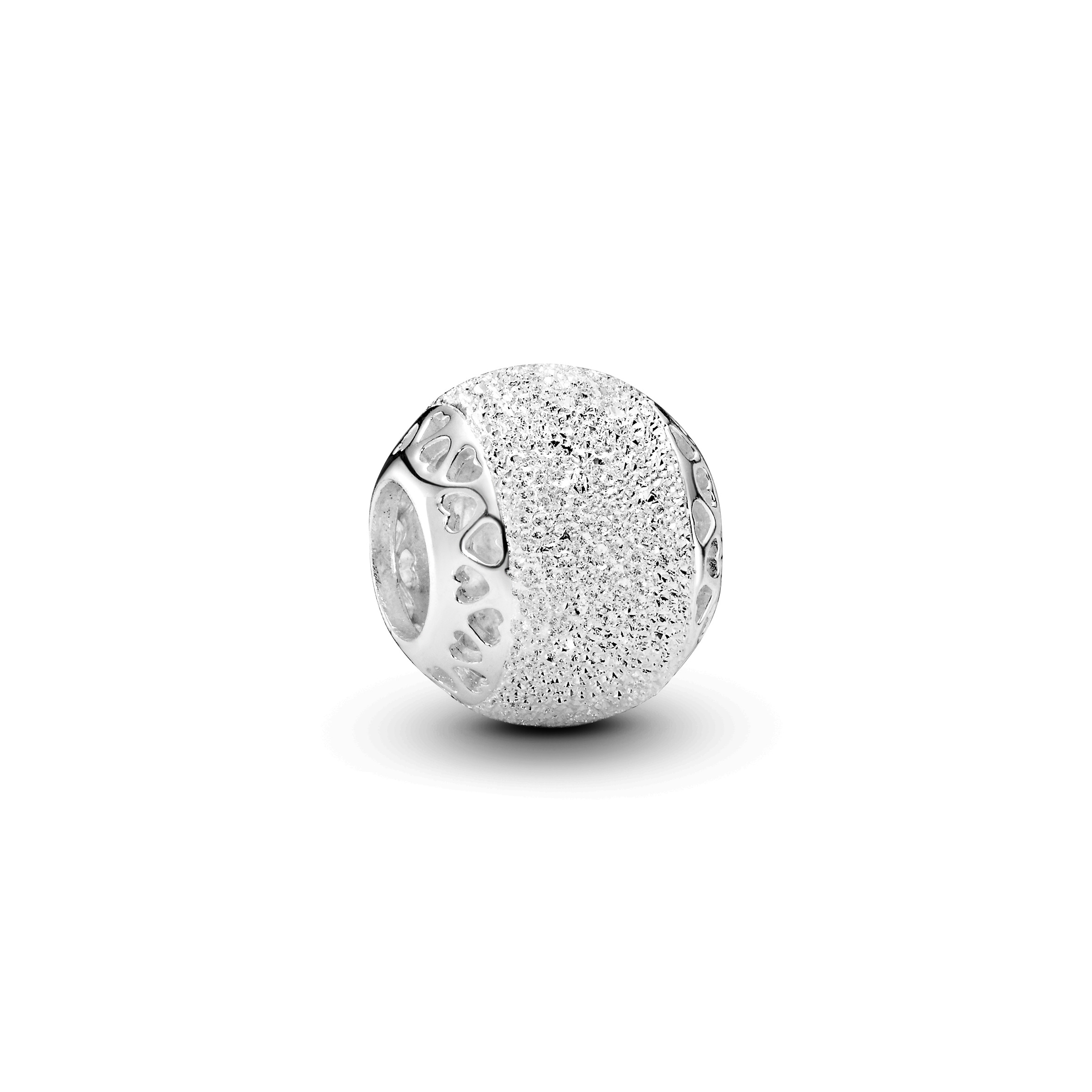 Silver charm with diamond pointing - Tilbehør / Smykker